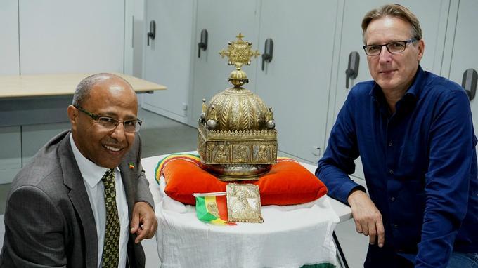 Disparue pendant 21 ans, une couronne éthiopienne du XVIIIe siècle refait surface
