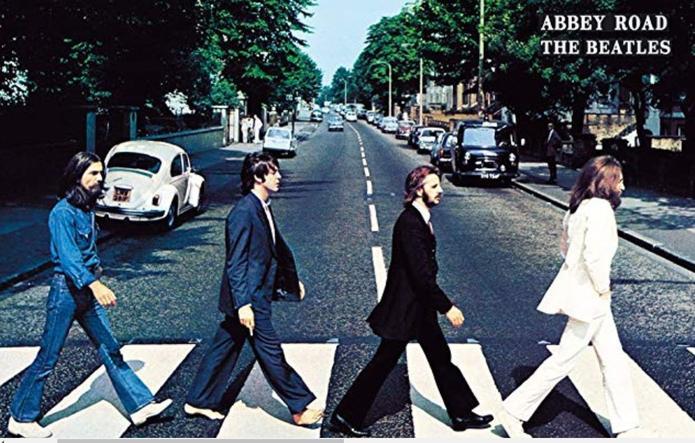 Photo du légendaire album des Beatles «Abbey Road»