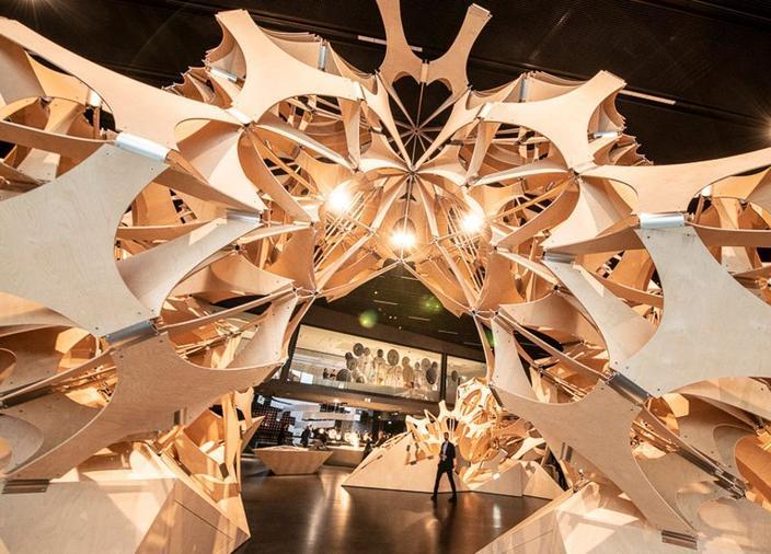 El futurium invita a los visitantes a cuestionar el mundo del mañana.
