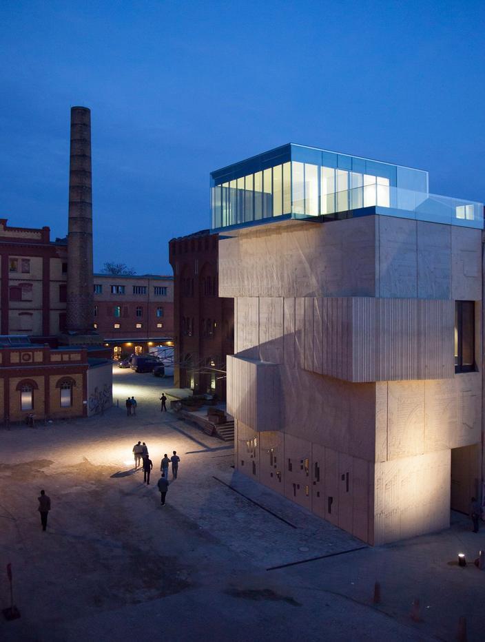 En Kastanianallee, la Fundación Tchoban dedicada a los dibujos arquitectónicos.