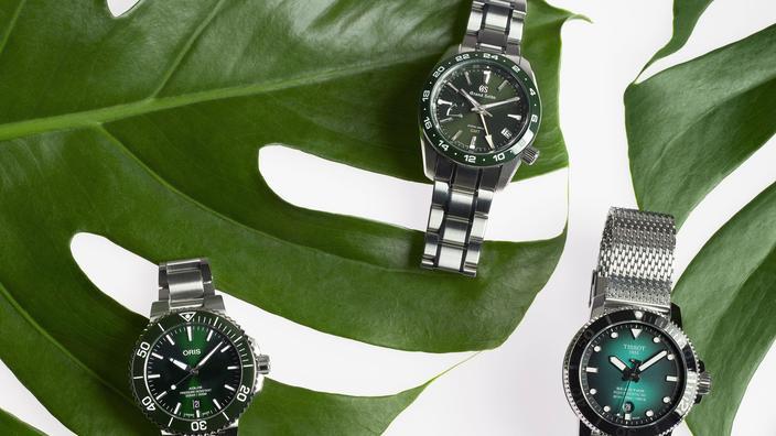 Spécial horlogerie: mise au vert