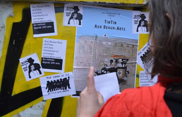 Les étudiants ont distribué 7000 tracts vendredi.
