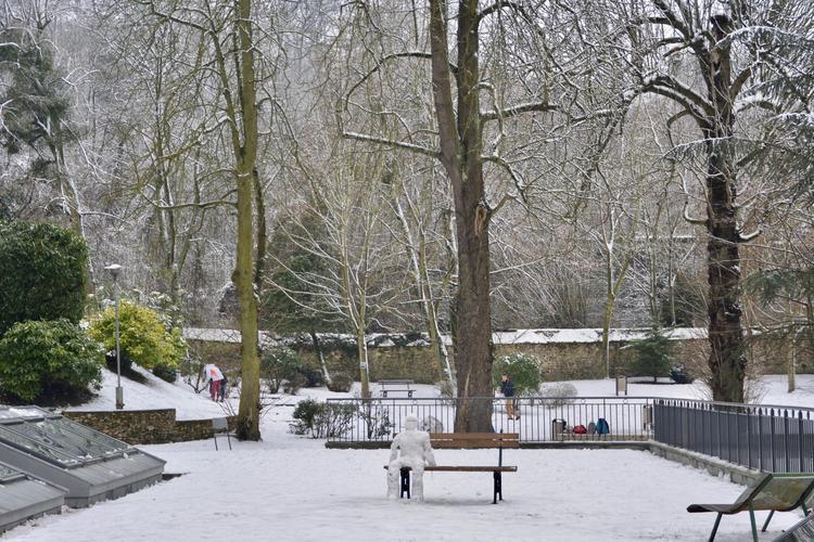 Lycéens et étudiants profitent du parc dans lequel ils peuvent se détendre.