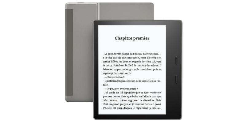 Liseuse: Kindle Oasis