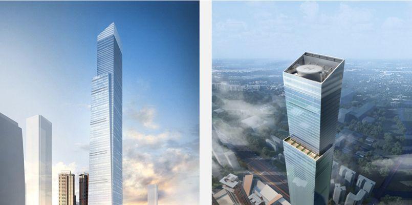 projet gratte ciel shanghai