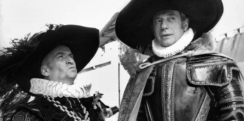 Louis de Funès et Yves Montand dans «La folie des grandeurs», film inspiré de Ruy Blas de Victor Hugo.
