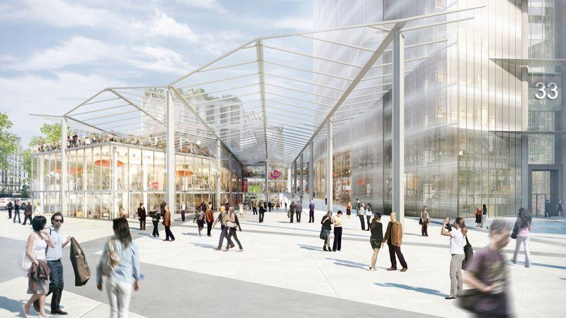 d couvrez quoi ressemblera la tour montparnasse en 2020. Black Bedroom Furniture Sets. Home Design Ideas