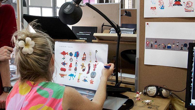 La sélection est féroce aux Gobelins qui forme l'élite de l'animation: 25 places sont offertes chaque année.