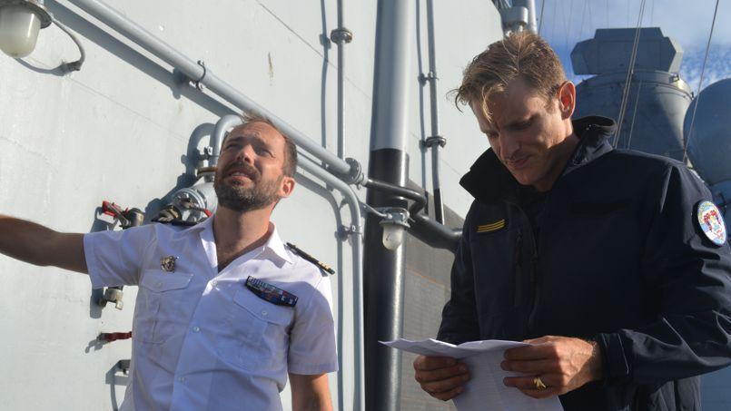 «Vivre en mer, c'est contre nature» Xavier Royer de Véricourt, commandant en chef du recrutement © C-A.L