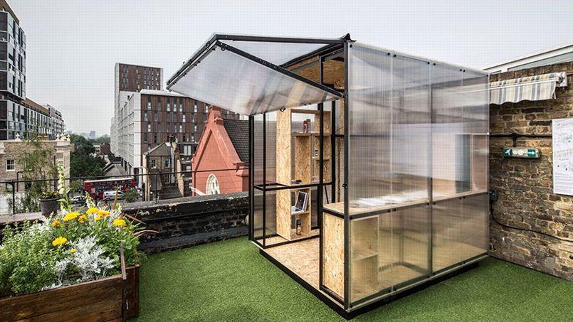 des architectes imaginent le studio du futur londres. Black Bedroom Furniture Sets. Home Design Ideas