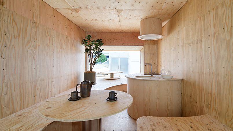 voici comment les japonais imaginent la maison de demain. Black Bedroom Furniture Sets. Home Design Ideas