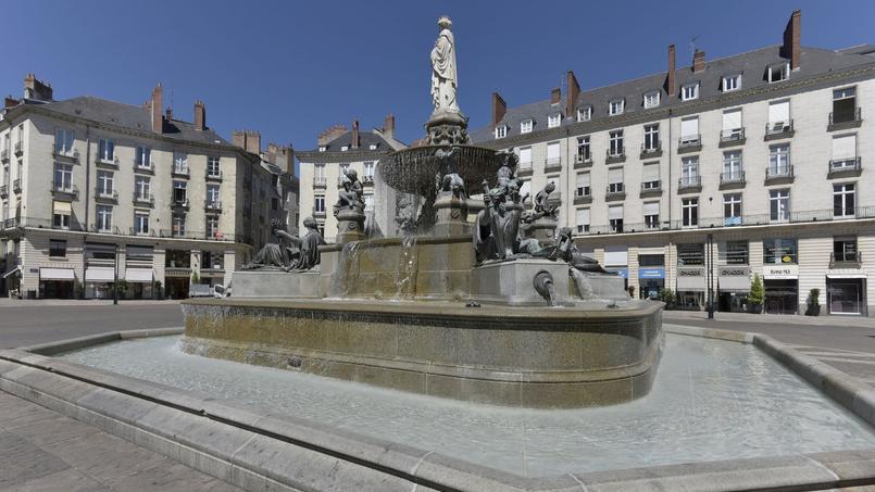 La place Royale à Nantes