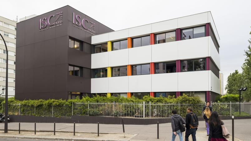 Le campus de l'ISC Paris, situé dans le 17ème arrondissement, s'étend sur 12.000 m2 et plusieurs bâtiments.