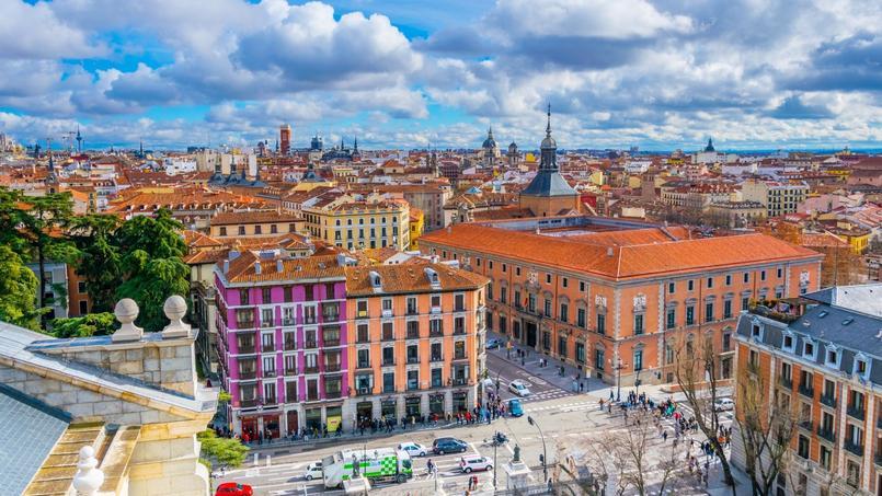 C'est la capitale, Madrid, qui a connu la plus forte hausse.