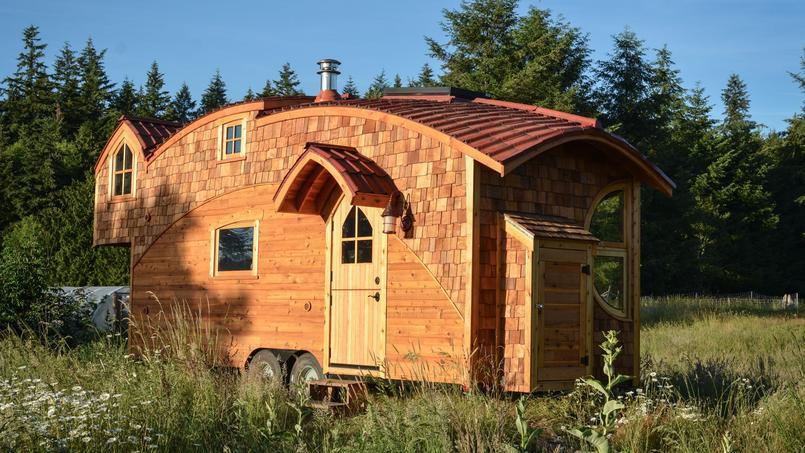Photo d'illustration: une Tiny House américaine, le modèle MoonDragon construit par Zyl Vardos.