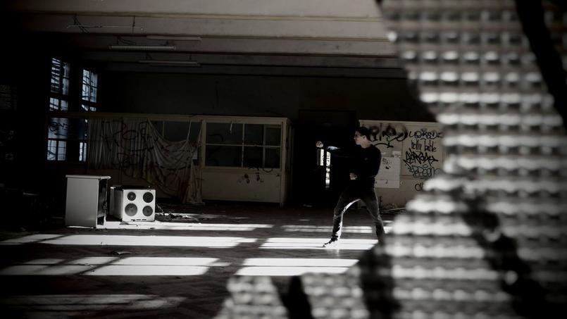 Dylan s'entraîne deux fois par jour durant les mois qui précèdent ses combats. ©Dylan Charrat / Facebook