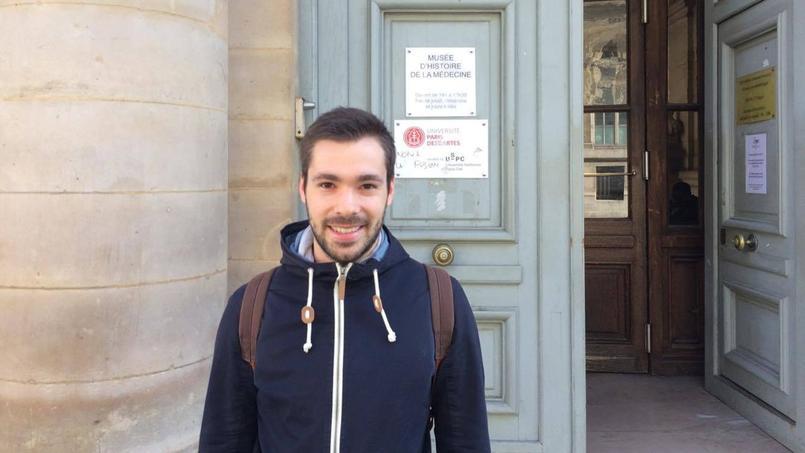 Antoine, 26 ans, a voté Macron. (c) Paul de Coustin