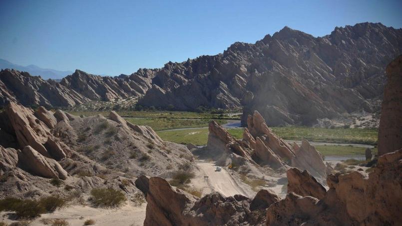 Les pierres levées témoignent des mouvements «récents» des Andes. Cc: désertours