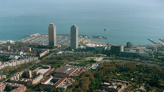 L'un des campus de l'université est à cinq minutes à pied de la plage. © Flickr / Universitat Pompeu Fabra Barcelona