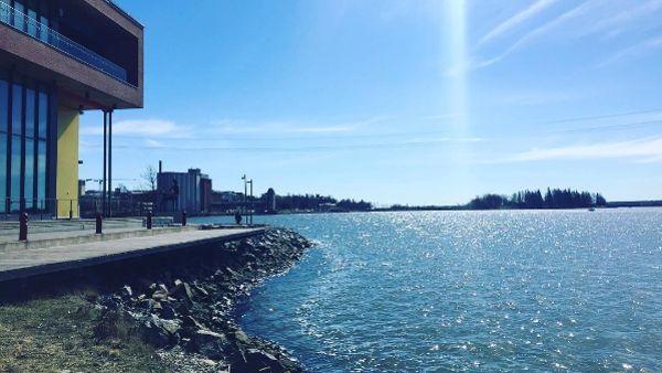 Au large de l'université, l'archipel de Kvarken, classé au patrimoine mondial de l'Unesco. © Instagram / University of Vaasa