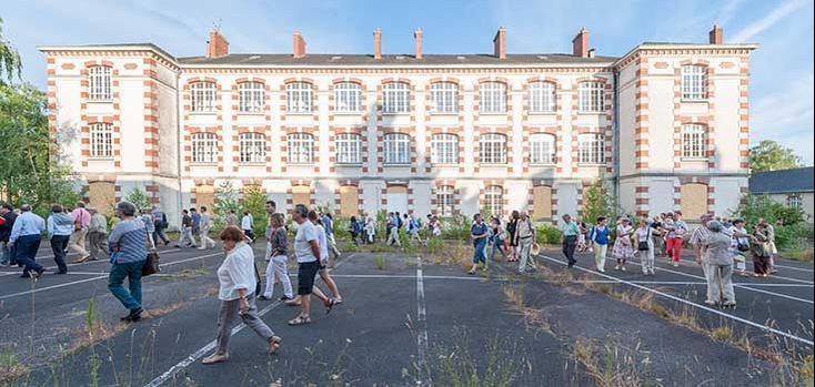Cette ancienne caserne à Nantes va laisser place à un nouveau quartier résidentiel où 1700 logements seront construits