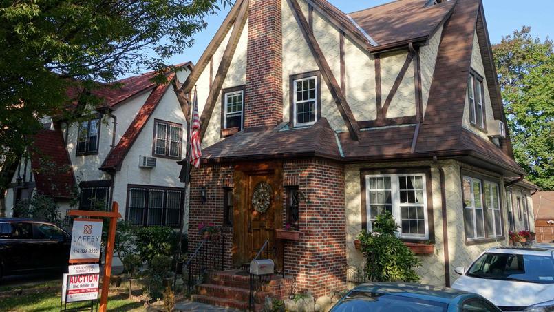 La maison d'enfance de Donald Trump avait été mise aux enchères en janvier dernier par un investisseur qui ne l'avait jamais occupée