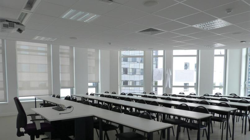 Une salle de cours - © Aude Bariéty