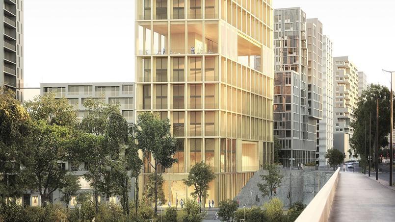 Les travaux des deux tours installées au bord de la Seine devraient débuter en 2018