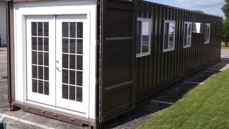 Ce préfabriqué de près de 30 m² est commercialisé autour de 30.000 euros