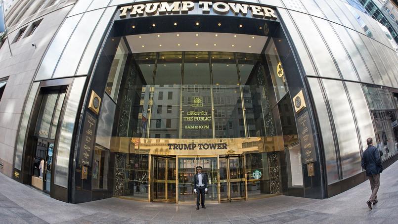 La valorisation de la Trump Tower a chuté d'environ 120 millions de dollars depuis un an