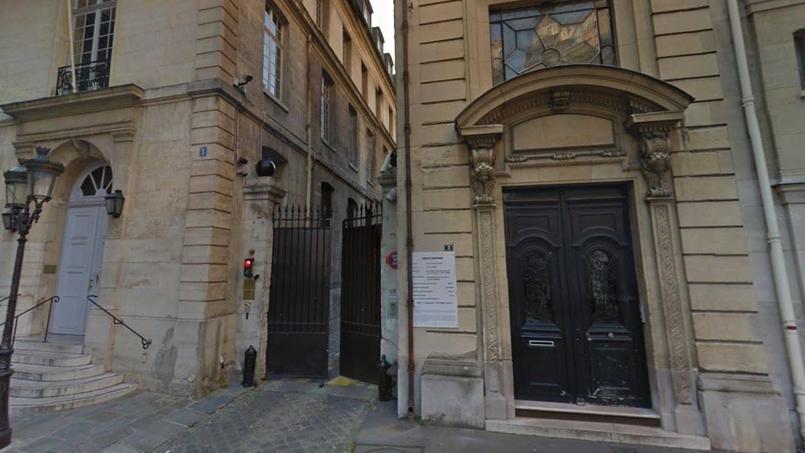 L'Hôtel de l'Artillerie (au numéro 1), dans le VIIe arrondissement de Paris