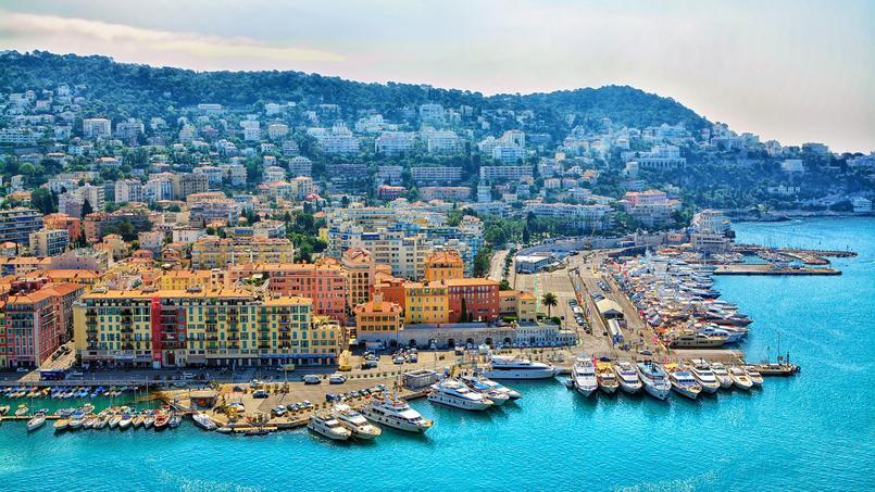 Vue panoramique sur la ville de Nice