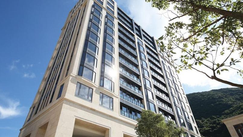 C'est dans cet immeuble, au 8 Mount Nicholson, qu'un appartement a été vendu à un prix record du m²