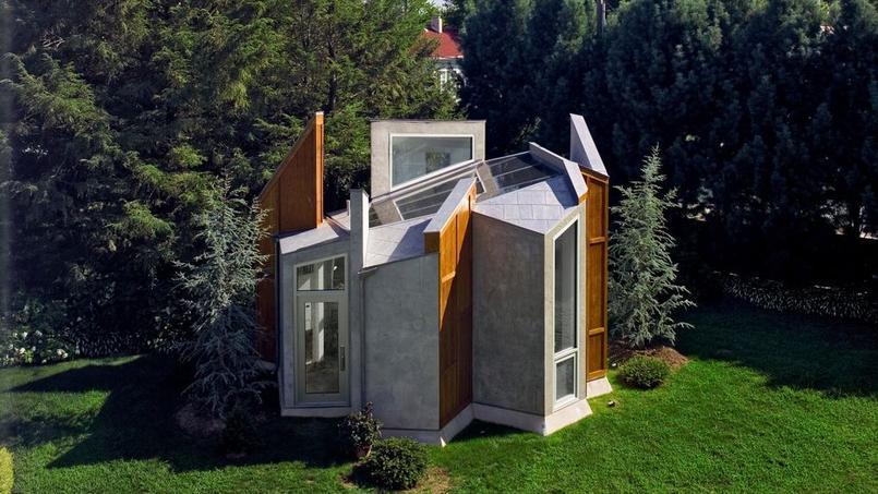 un grand prix d architecture pour un petit atelier de jardin. Black Bedroom Furniture Sets. Home Design Ideas
