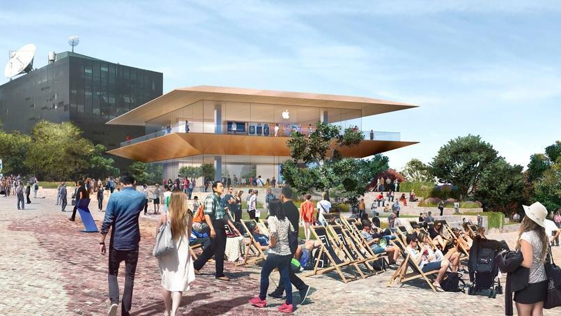 Le projet controversé de boutique prévu à Melbourne.