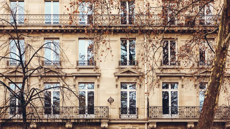 Photo d'illustration d'une façade d'un immeuble Parisien.