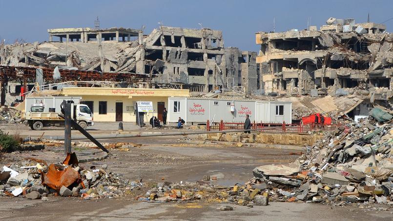 La ville de Mossoul (en Irak) en pleine reconstruction