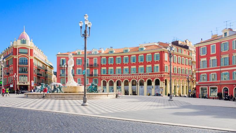 C'est à Nice (ici, la place Masséna) que les loyers ont le plus augmenté en 2017