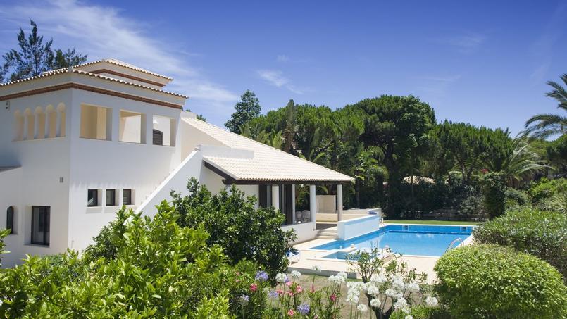 Une villa dans la région d'Algarve, au sud du Portugal