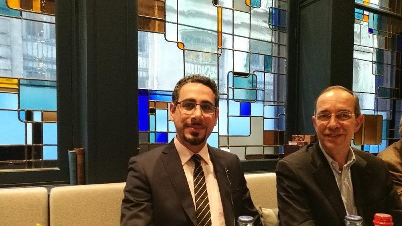 Samir Ayoub, directeur de l'Essca, et Frédéric Meunier, directeur de l'Efrei Paris.