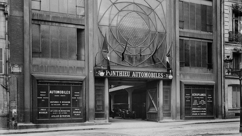 51 rue de Ponthieu. Garage
