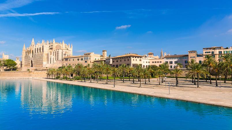 Palma Majorque, ville de 400.000 habitants, capitale de l'archipel des îles Baléares (Espagne).