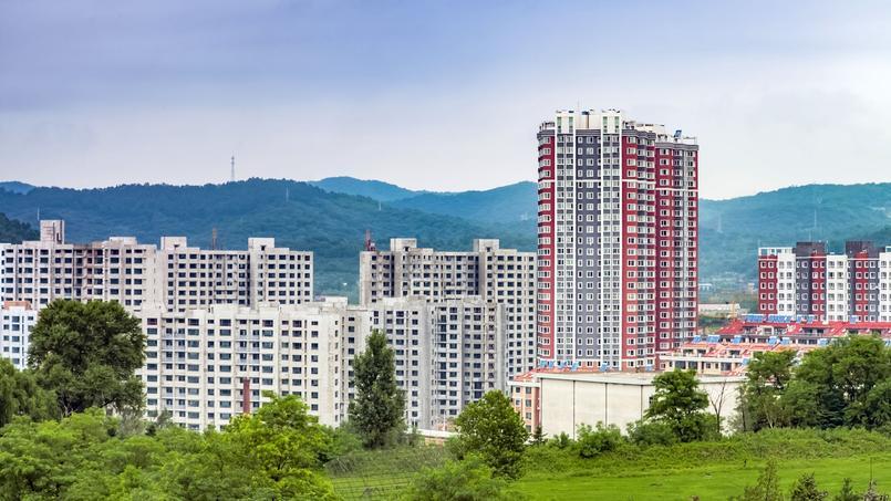 La ville de Dandong