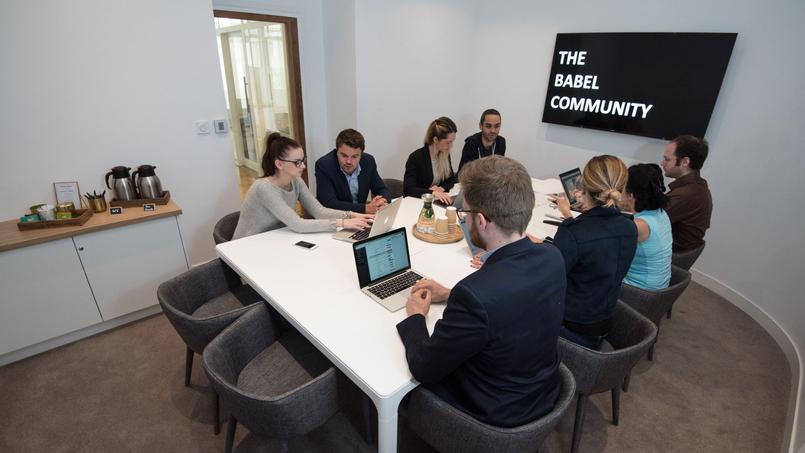 Une salle de réunion de The Babel Community, à Marseille.