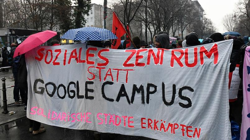 GERMANY-EDUCATION-ECONOMY-GOOGLE-DEMO