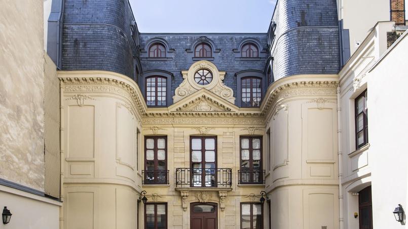 L'hôtel particulier du 7 rue Lacépède, à Paris.