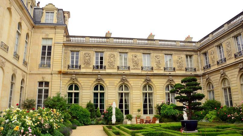Les jardins de l'Élysée