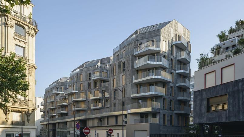 L'immeuble HLM concerné, dans le XVIIe arrondissement de Paris.
