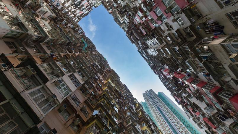 Un ensemble HLM à Hong Kong.