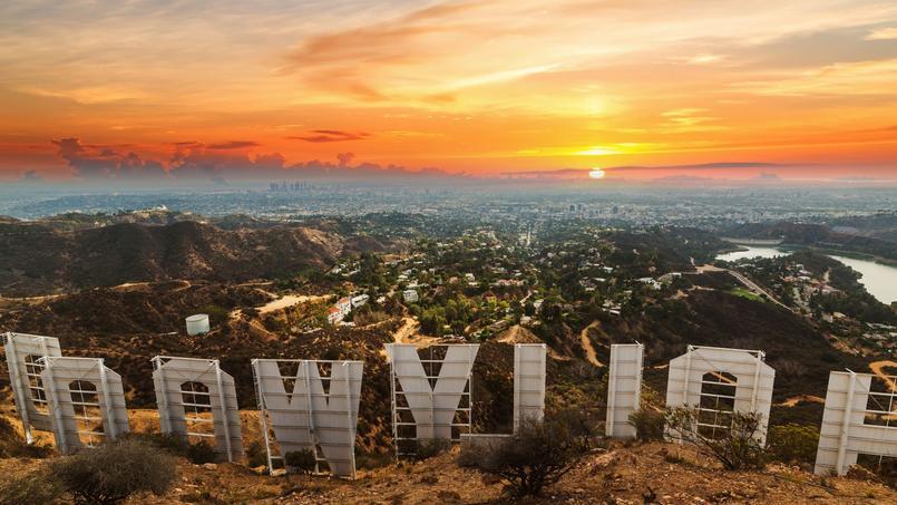 Vue plongeante sur Los Angeles, où le terrain à 1 milliard de dollars est en vente.